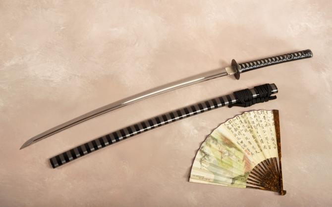 Японский меч катана