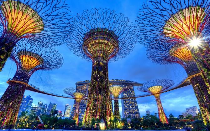 Сингапур технологичный парк