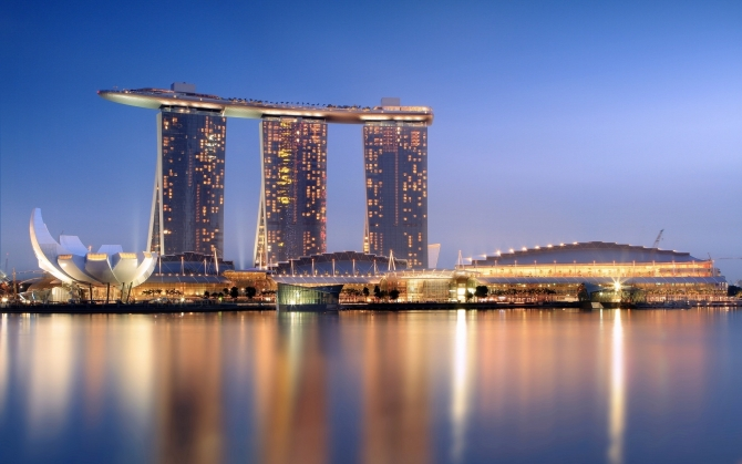 Marina Bay Sands Сингапур