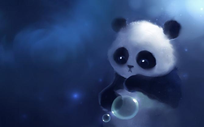 Фэнтези панда