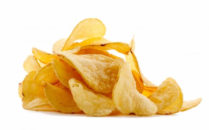 Золотистые чипсы