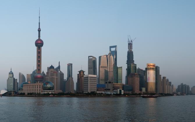 Здания Шанхая