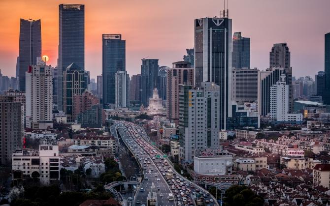 Трафик в Шанхае