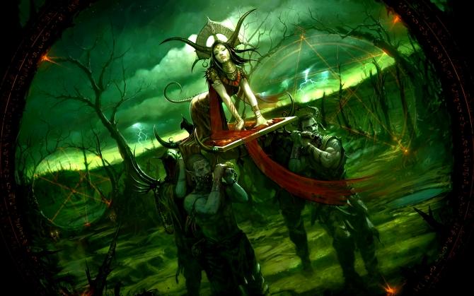Ведьма с рогами