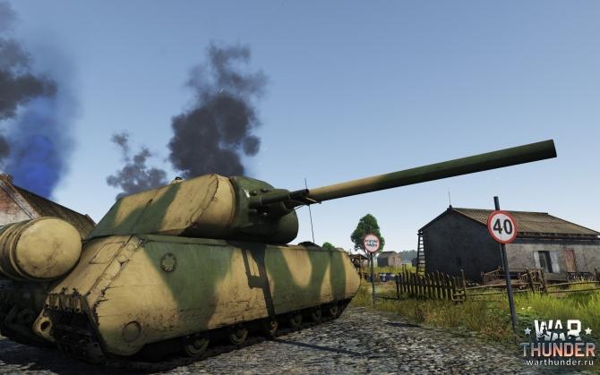 War Thunder E100