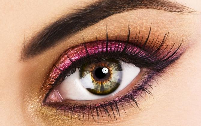 Бровь и глаз
