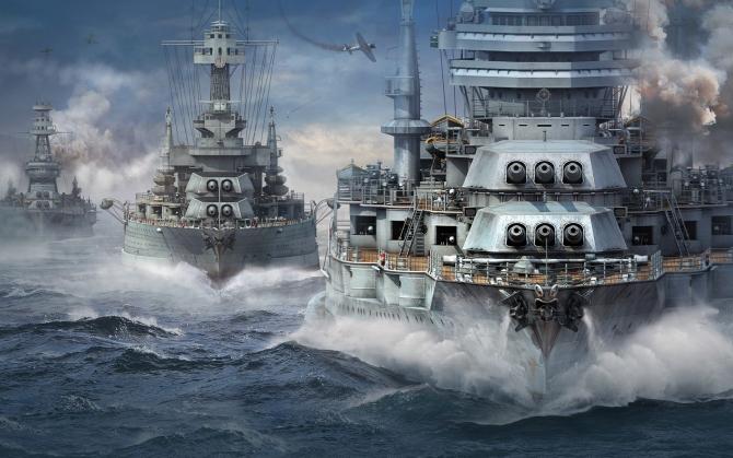 Корабли World of Warships