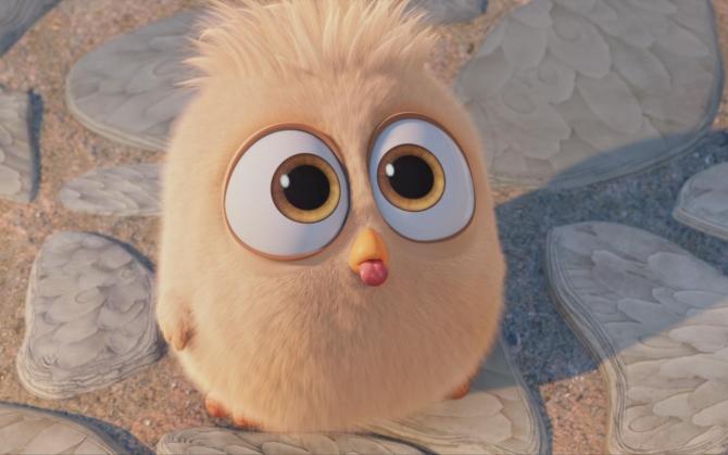 Птенец Angry Birds в кино