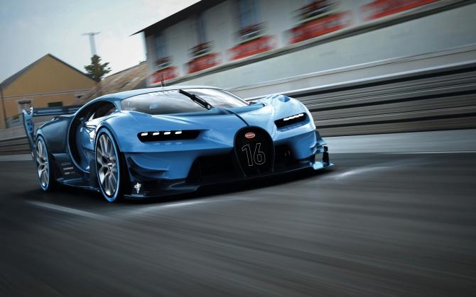 Bugatti Chiron концепт