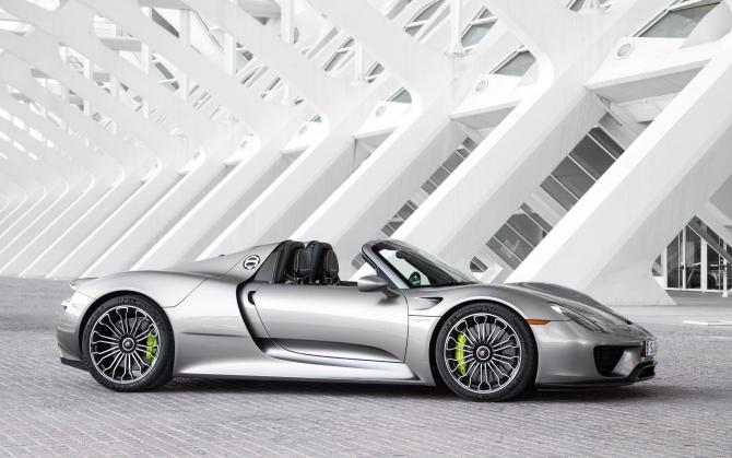 Porsche 918 Spyder кабрио