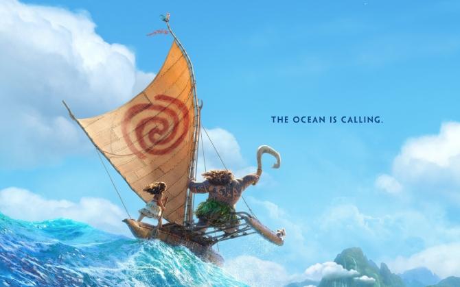 Моана - океан зовет