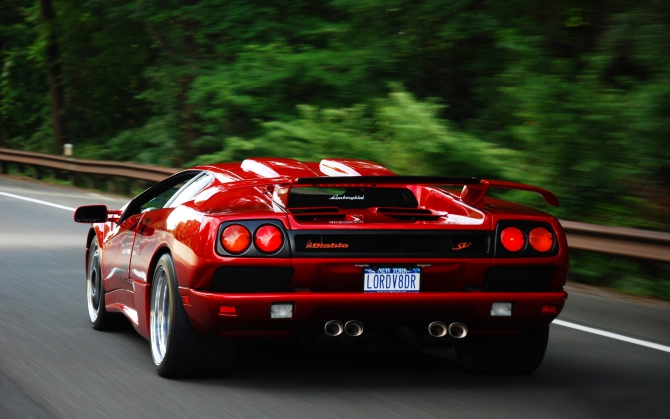 Суперкар Lamborghini Diablo