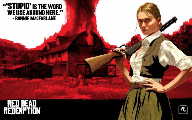 Бонни Макфарлейн Red Dead Redemption