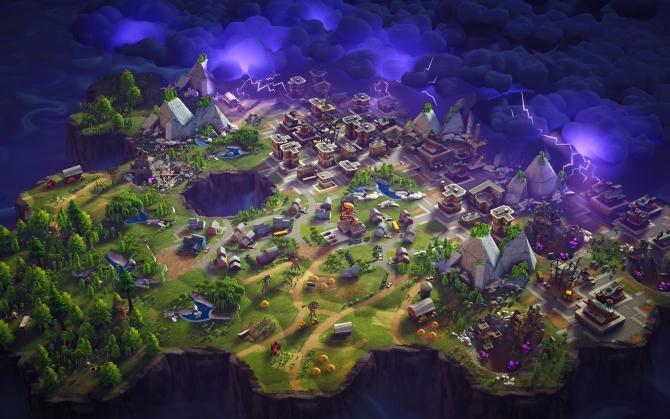 Fortnite карта мира