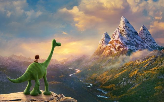 Хороший динозавр мультфильм