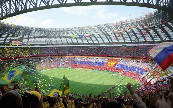 Лужники - главный стадион Чемпионата мира 2018