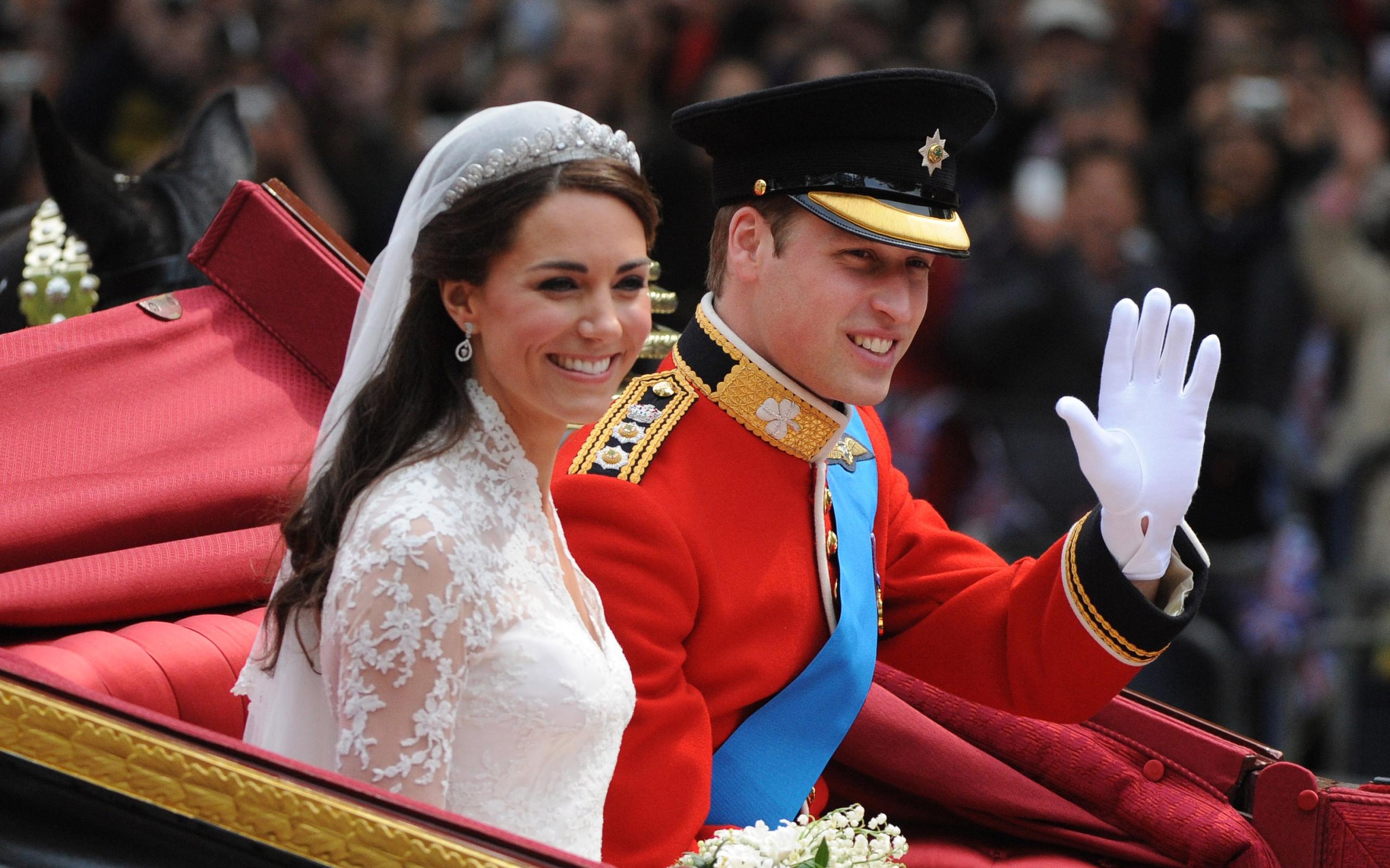 Свадьба Кейт Миддлтон и принца Уильяма обои для рабочего стола, картинки и фото - RabStol.net