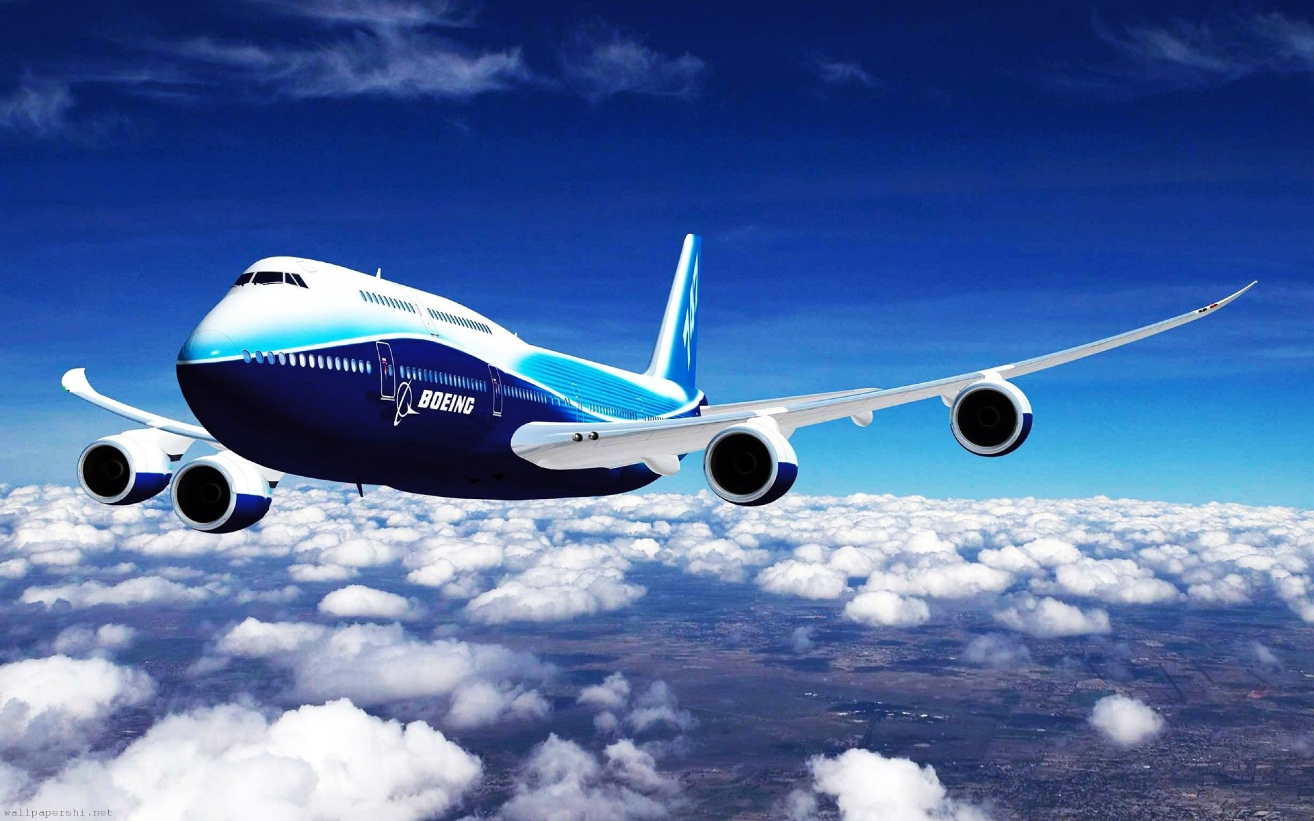 Обои boeing 747. Авиация foto 8