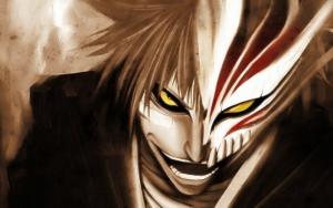 Злой Ичиго в маске пустого