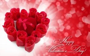 Розы на День всех влюбленных