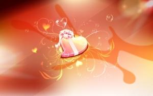 День святого Валентина сердечко