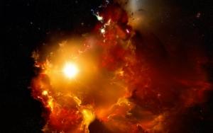 Взрыв в космосе