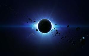Затмение и метеориты