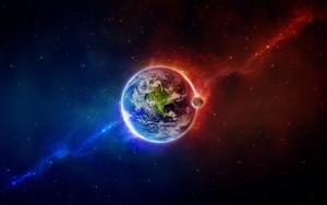 Сине-красная Земля