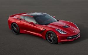 Corvette Stingray Red