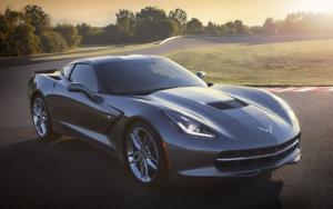 Серый Corvette Stingray