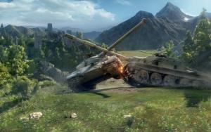 Сражение танков WoT