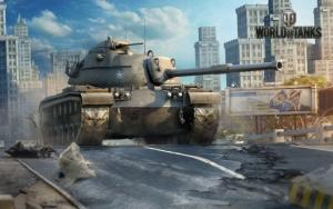 World of Tanks в городе