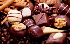 Конфеты из шоколада
