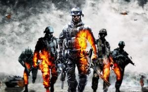Battlefield солдаты