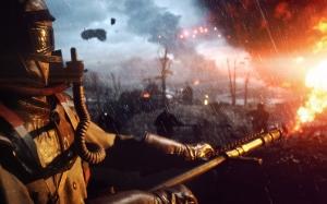 Battlefield 1 огнеметчик