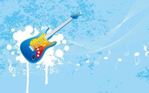 Нарисованная гитара