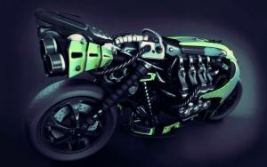 Мотоцикл 3d