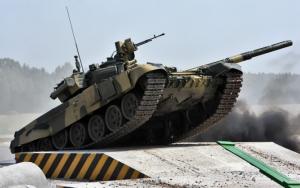 Испытания танка Т-90