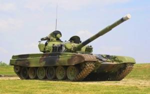 Сербский танк М-84
