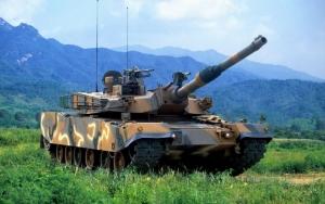 Корейский танк K1A1