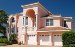 Дом с тремя гаражами