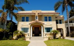 Дом с пальмами
