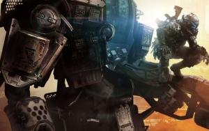 Titanfall титан и содат пилот