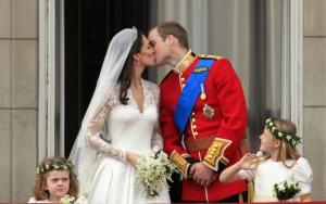 Кейт Миддлтон и принц Уильям поцелуй