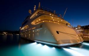 Подсветка яхты
