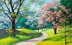 Рисунок весны