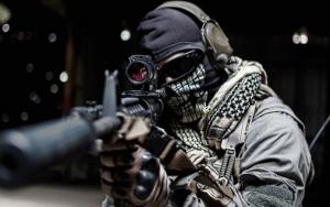 Боец Call of Duty Ghosts