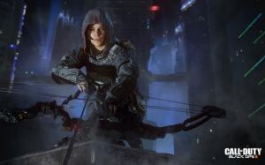 Call of Duty: Black Ops III девушка солдат