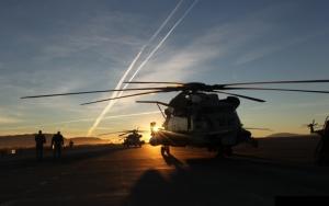 Военные вертолеты на базе