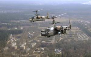 Военные вертолеты Ka-52